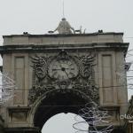 Lisboa - Praça do Comércio - Arco do Triunfo