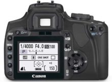Canon 400D LCD