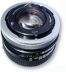 Canon FD 50mm 1.4 - Encaixe