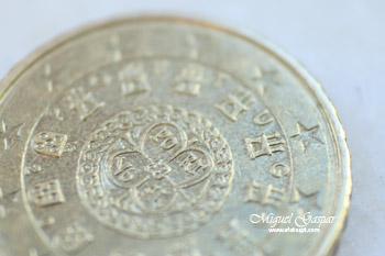 Macro - Moeda de 20 cêntimos