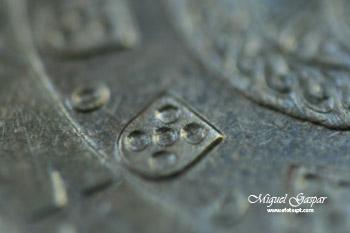 Macro - Quinas da moeda 20 Cêntimos