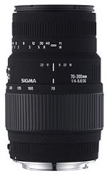 Sigma DG 70-300mm 1:4-5.6