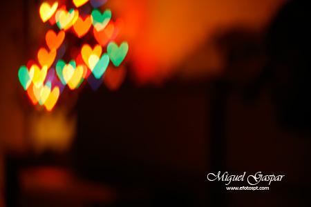 Truques e dicas - Árvore de natal com corações.