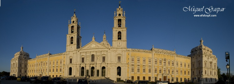 Panoramica do Convento de Mafra