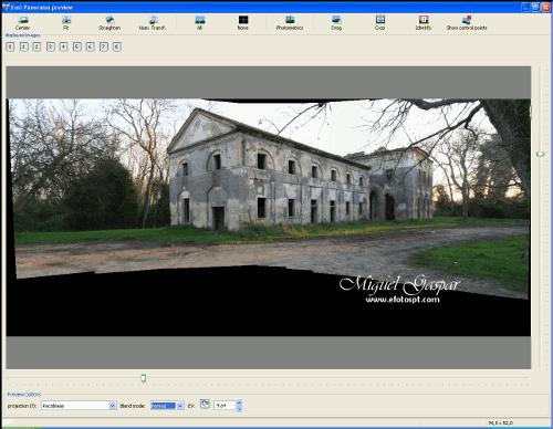 Software para Fotografia Panorâmica - Passo 2