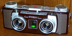 Máquina fotográfica 3D - Kodak Stereo