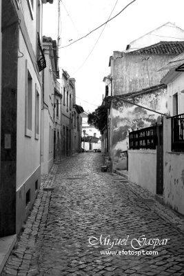 Decompose - RGB - Ruas de azambuja - edição a preto e branco