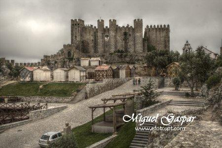 Castelo - Óbidos - Fotografia final com o Luminance HDR