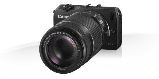 Canon M - Lente grande