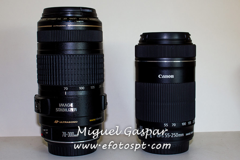 Canon 70-300 IS USM - Canon 55-200 IS STM