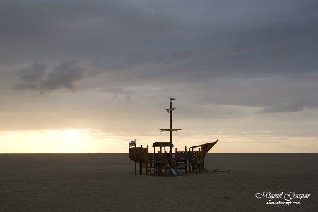 Barco perdido - Foz do arelho
